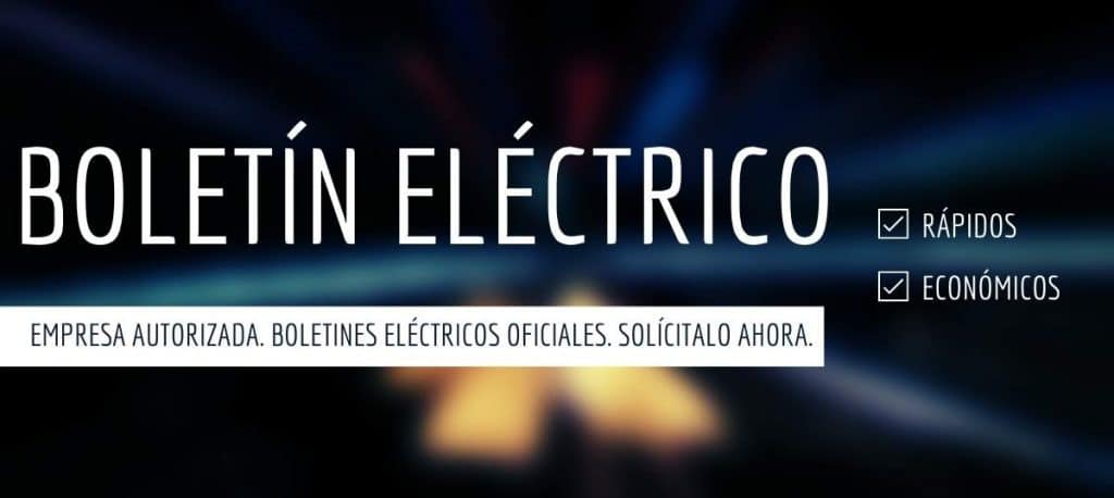 Boletin electrico Barcelona