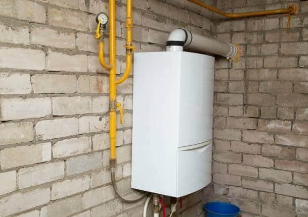 Caldera de gas estanca