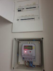 Cambio de contador de luz realizado
