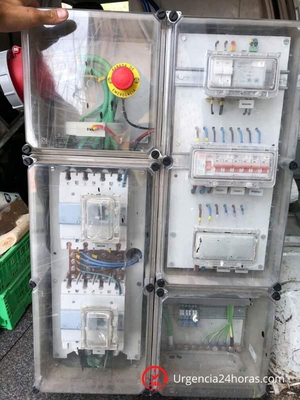 Cuadros eléctricos industriales