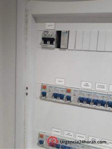 Detalle cuadro eléctrico vivienda