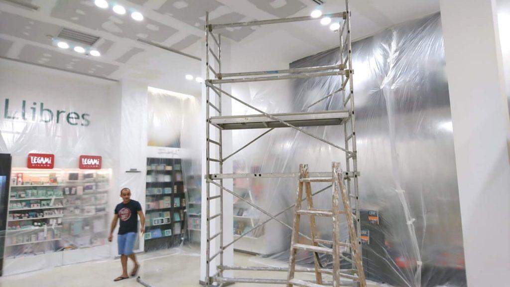 Reformas Casa del libro pintura Barcelona