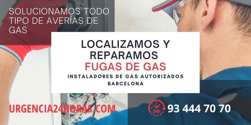 Fugas de gas Barcelona urgencias
