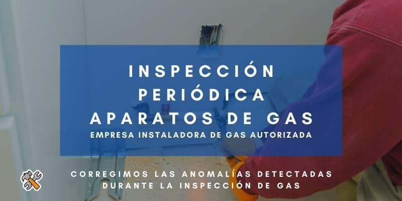 inspección gas anomalias
